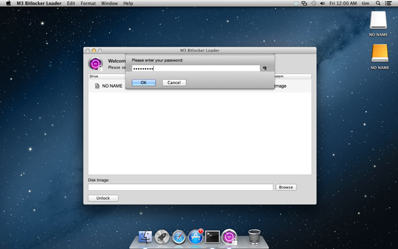 M3 BitLocker Loader for Mac