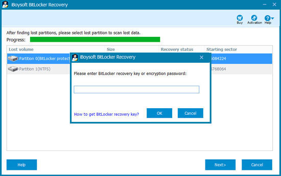 M3 BitLocker Recovery - Enter BitLocker recovery key or password