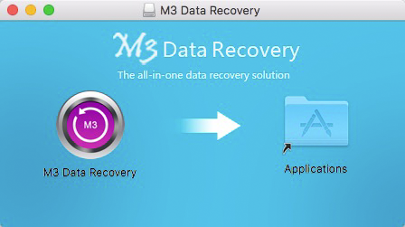 Install M3 Data Recovery for Mac