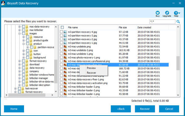 Recover data from Bitlocker encrypted drive