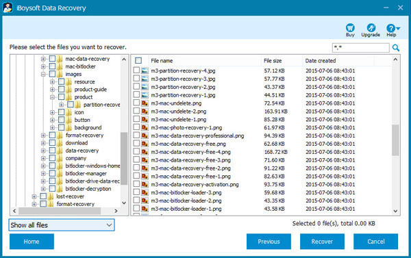 Recover data from RAW drive with M3 Data Recovery