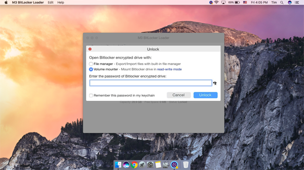 Read Bitlocker encrypted drive on Mac