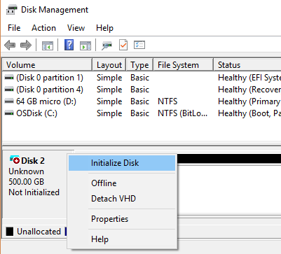 Solved] How to fix disk unknown not initialized in Windows