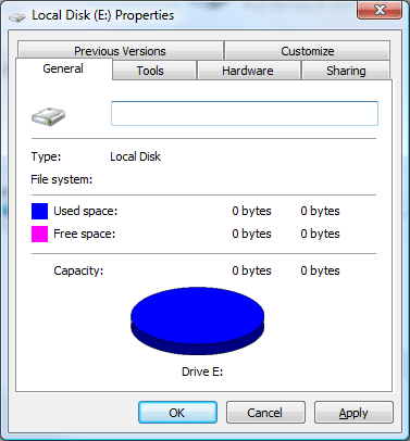 how to use chkdsk on external hard drive window 7